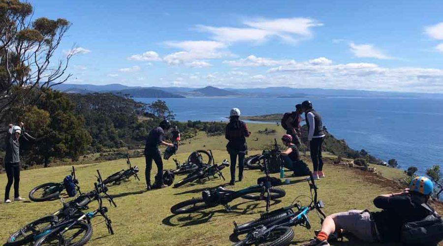 Bikes Grass Hill, Tasmania