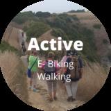 E-Biking | Walking